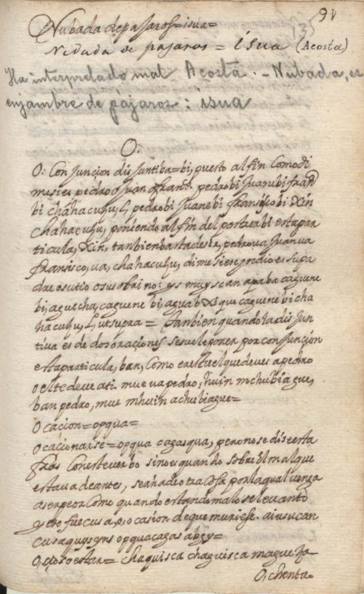 Manuscrito 158 BNC Vocabulario - fol 91r.jpg