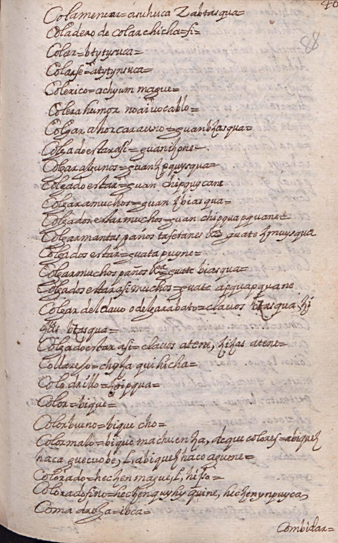 Manuscrito 158 BNC Vocabulario - fol 40r.jpg