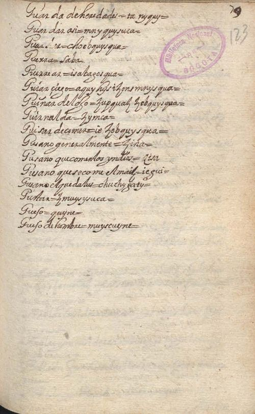 Manuscrito 158 BNC Vocabulario - fol 79r.jpg