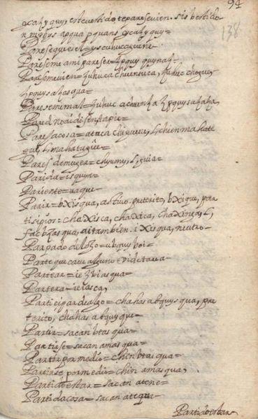 Archivo:Manuscrito 158 BNC Vocabulario - fol 94r.jpg