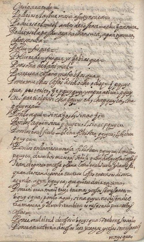Manuscrito 158 BNC Vocabulario - fol 100v.jpg