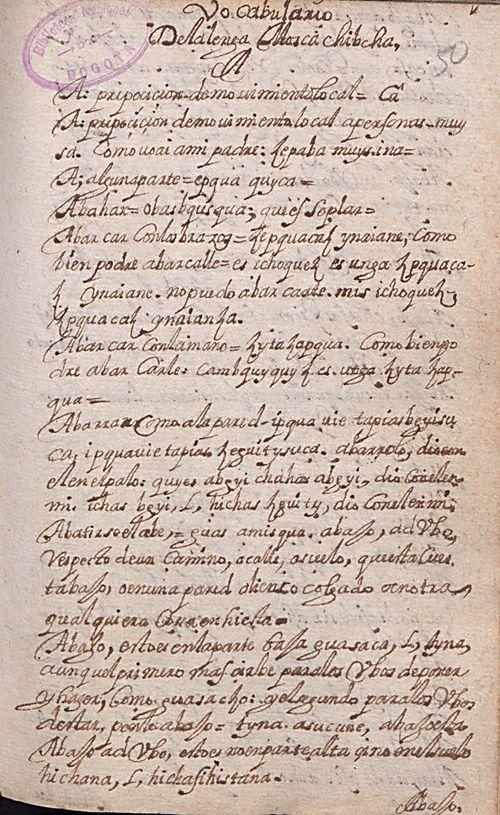 Manuscrito 158 BNC Vocabulario - fol 1r.jpg
