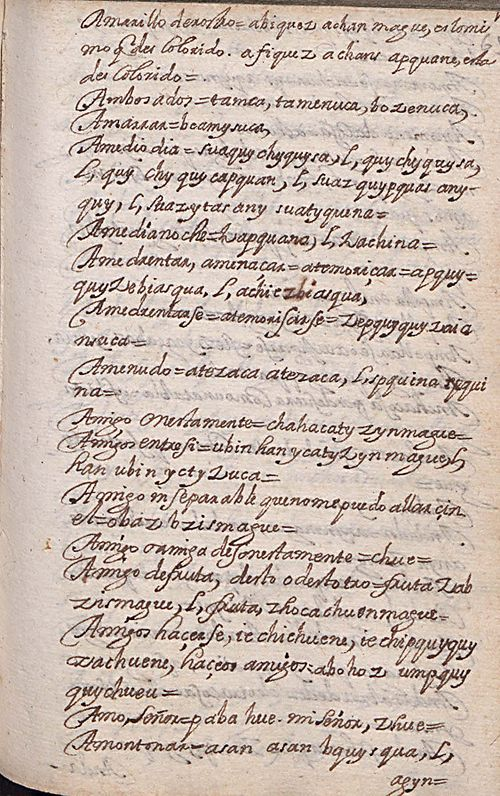 Manuscrito 158 BNC Vocabulario - fol 14r.jpg