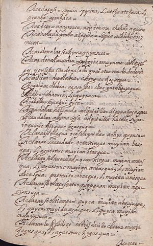 Manuscrito 158 BNC Vocabulario - fol 4r.jpg