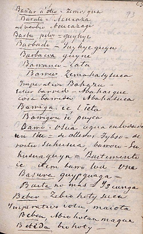 Manuscrito 158 BNC Vocabulario - fol 23r.jpg